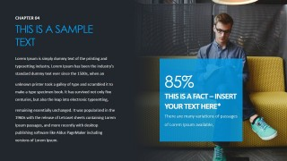 PowerPoint Fact Design Slide for Sales Pitch