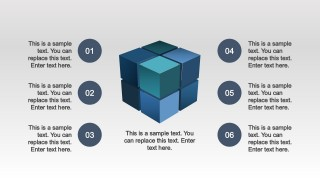 PPT Eight Quadrants  3D Cube