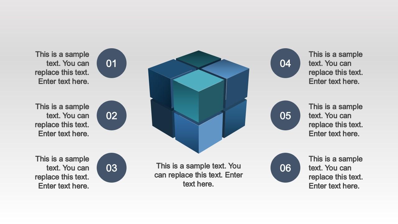 PPT Eight Quadrants  3D Cube