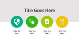 4-Step Process Green Duotone Graphics