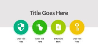 Four Duotone Graphics Icons for PowerPoint
