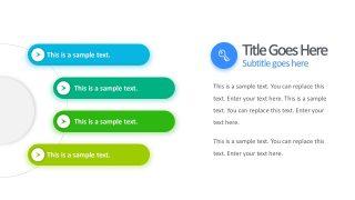 4-Steps Process Gradient PowerPoint Theme