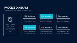 Creative Process Diagram Business Templates