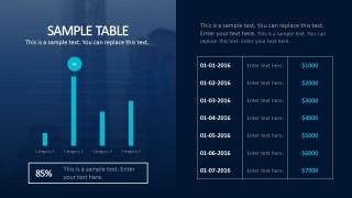 7 Month Budget Timeline For Business Presentations