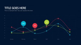 Line Graph Business Plan PowerPoint Templates