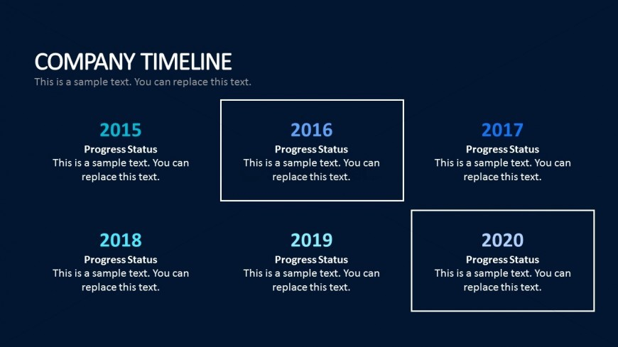 Company timeline business template for powerpoint slidemodel company timeline business template for powerpoint cheaphphosting Images