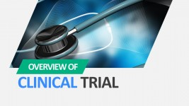 Clinical Trial PowerPoint Template Cover Slide