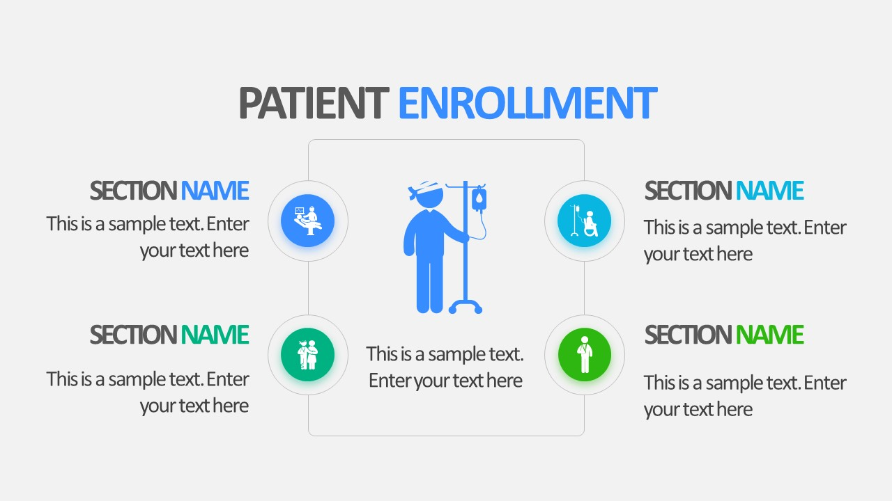 Patient information powerpoint templates slidemodel for Clinical trial template