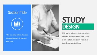 Clinical Trial Study Design PowerPoint Templates