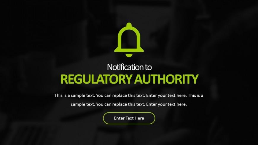 Hospital Regulation Authority Editable PowerPoint