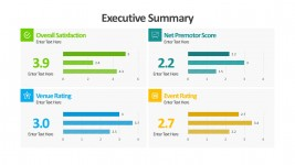 Business Satisfaction Ratings PowerPoint Templates