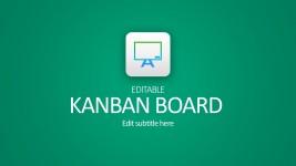 Kanban Board PowerPoint For Business Startups