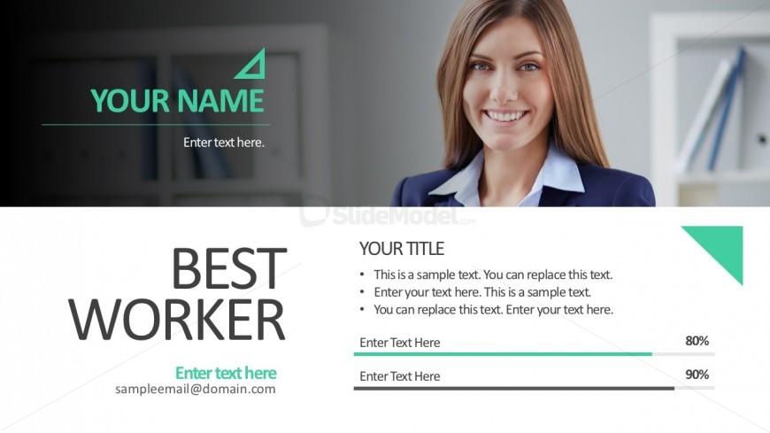 Employee Skill Ratings PowerPoint Slides