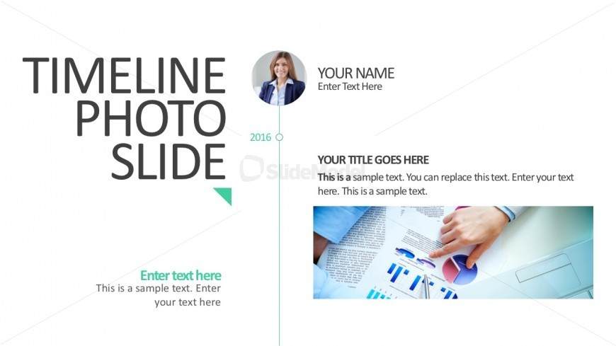Image Timeline Presentation For PowerPoint