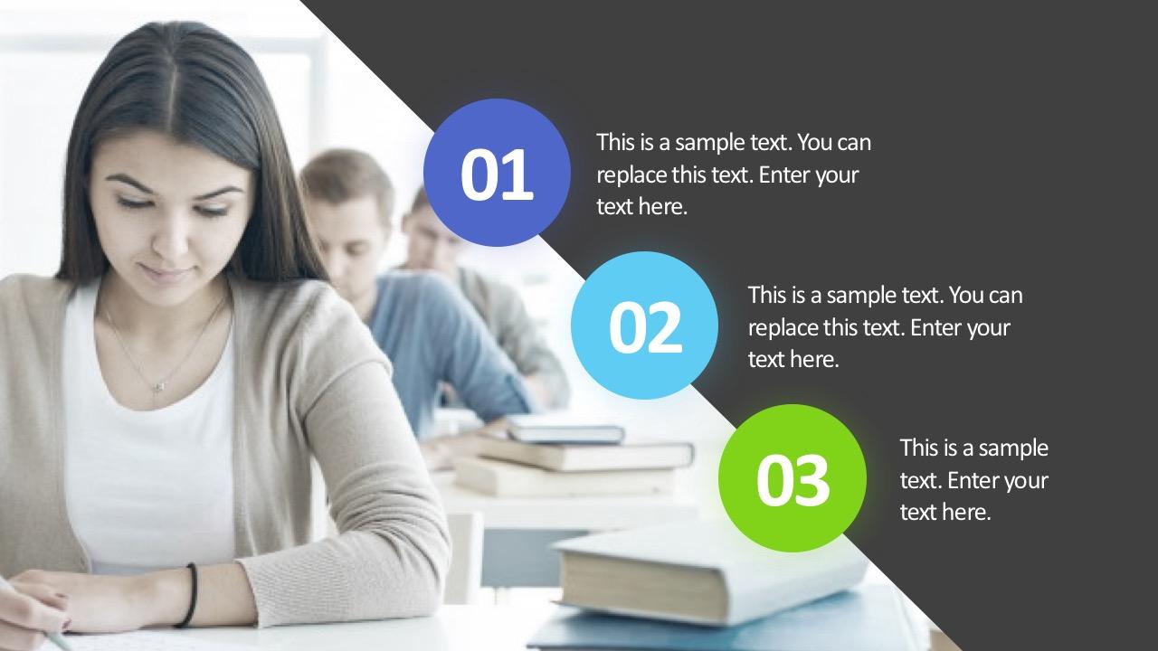 Business Process Template Slide PowerPoint