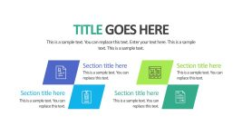 Business Presentation Slide Holder Templates