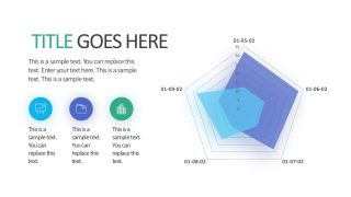Editable Spider Graph Chart Template PowerPoint