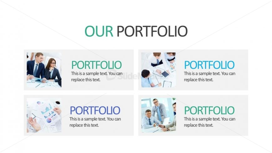Business Portfolio PowerPoint Presentation Slides  Company Portfolio Template