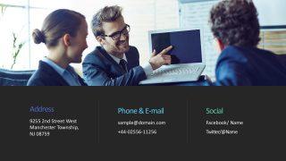 Company Business Slide Presentation Templates