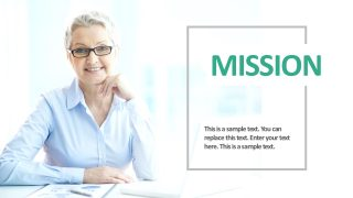 Business Image Slide Presentation Template