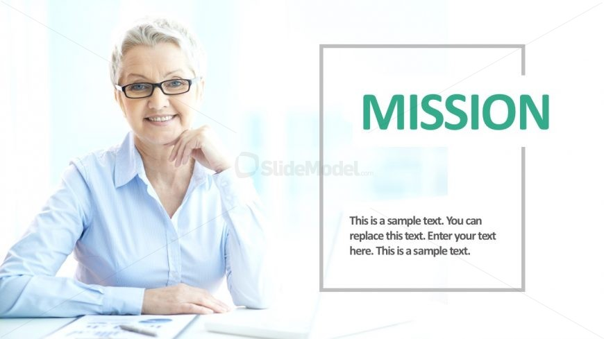 Business Image Slide Presentation Template