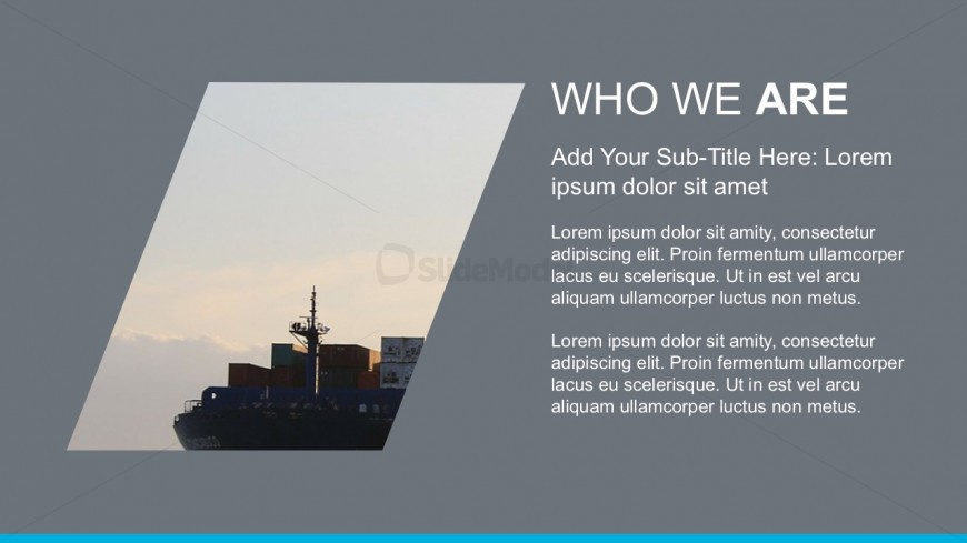 Company Background PowerPoint Business Template