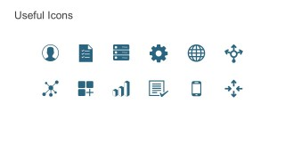 Data Storage PowerPoint Icons And Shapes
