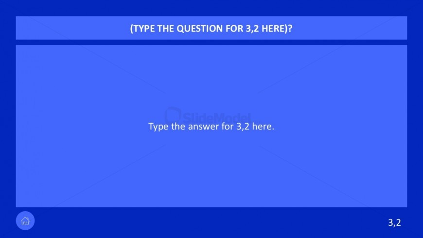 Q and A Game Template for PowerPoint