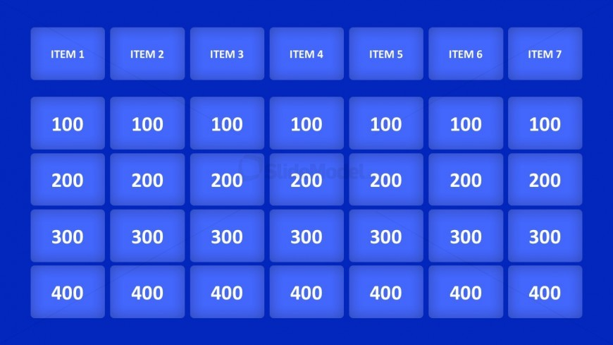 Animated Jeopardy Game For Powerpoint  Slidemodel