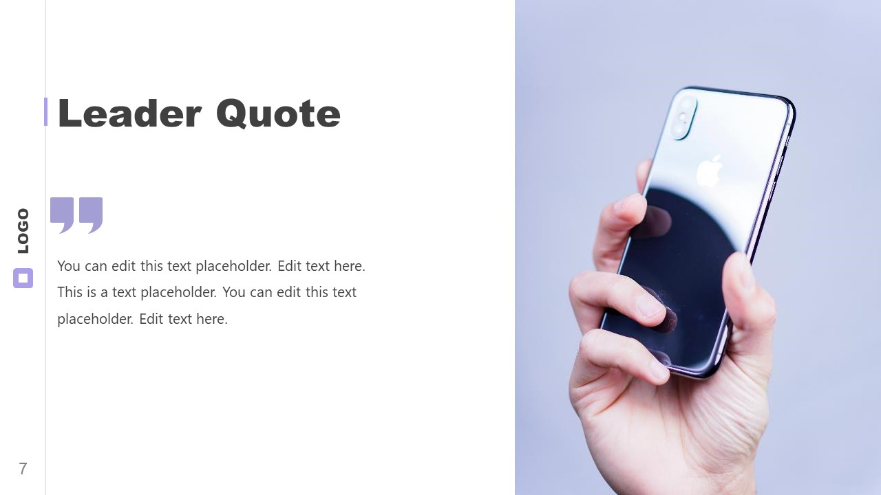 PowerPoint Excellence Template Quotes
