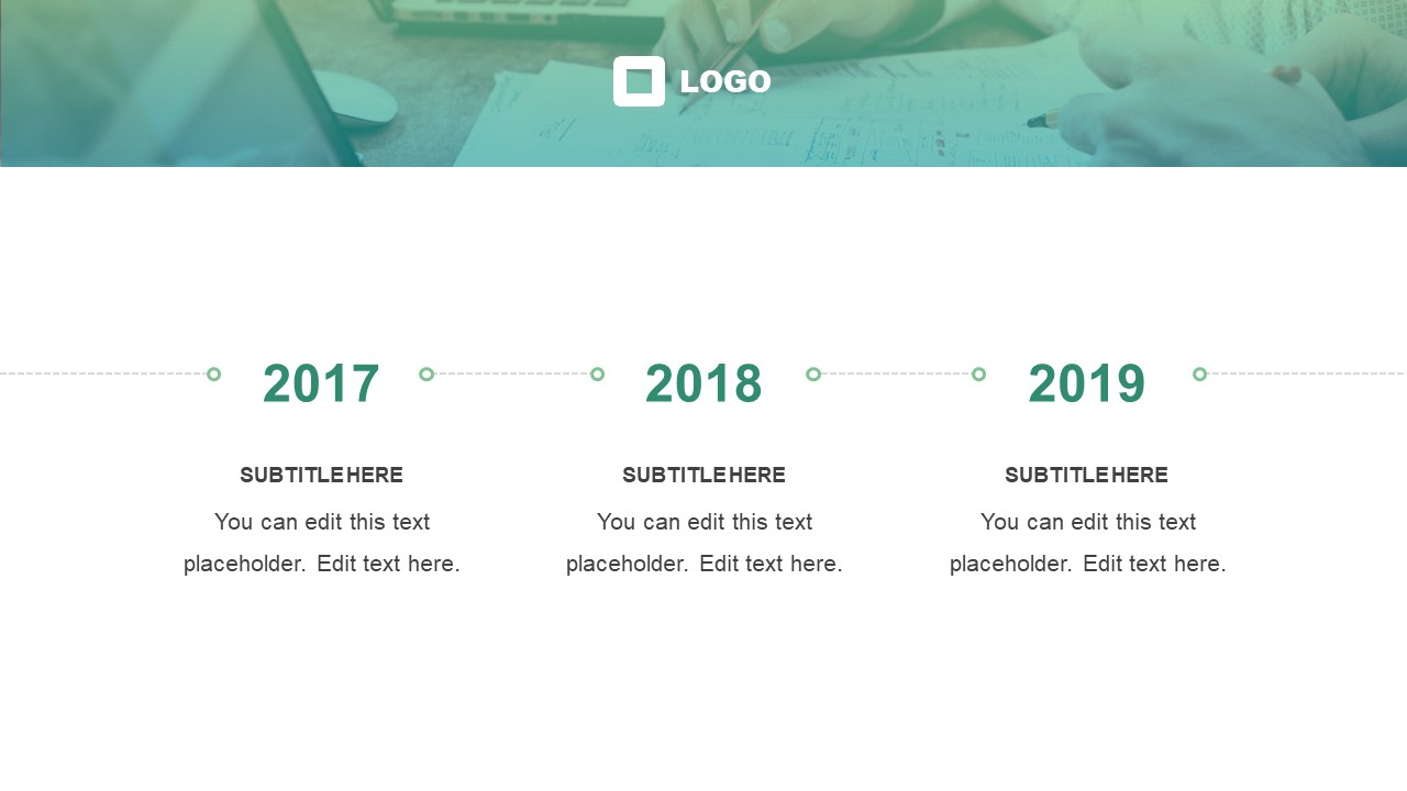 Business Timeline Template Design