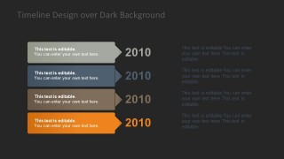 Vertical Timeline Template for PowerPoint