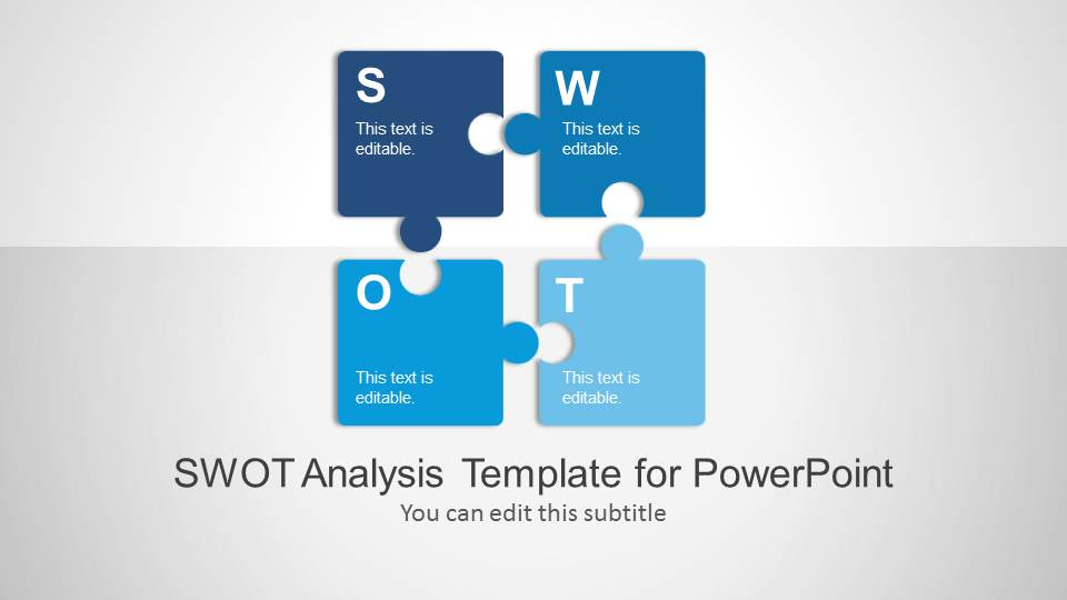 Swot Analysis Powerpoint Template - Slidemodel