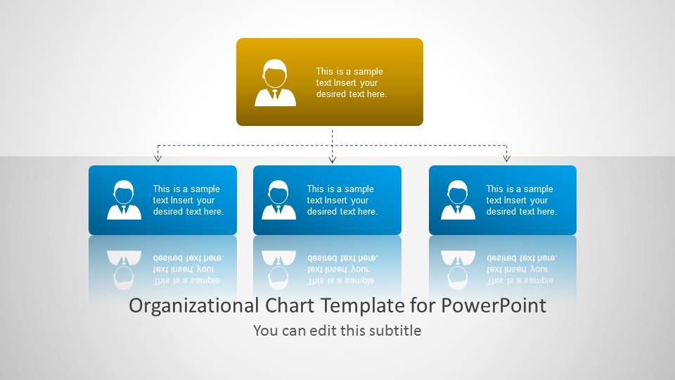 Org chart template for powerpoint slidemodel for Power point org chart template