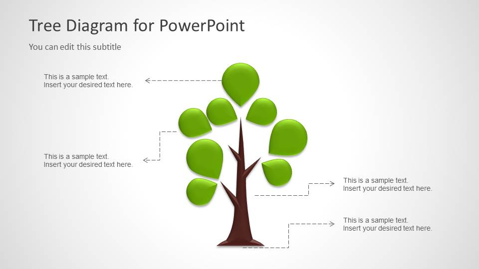 Tree Diagram Template For Powerpoint - Slidemodel