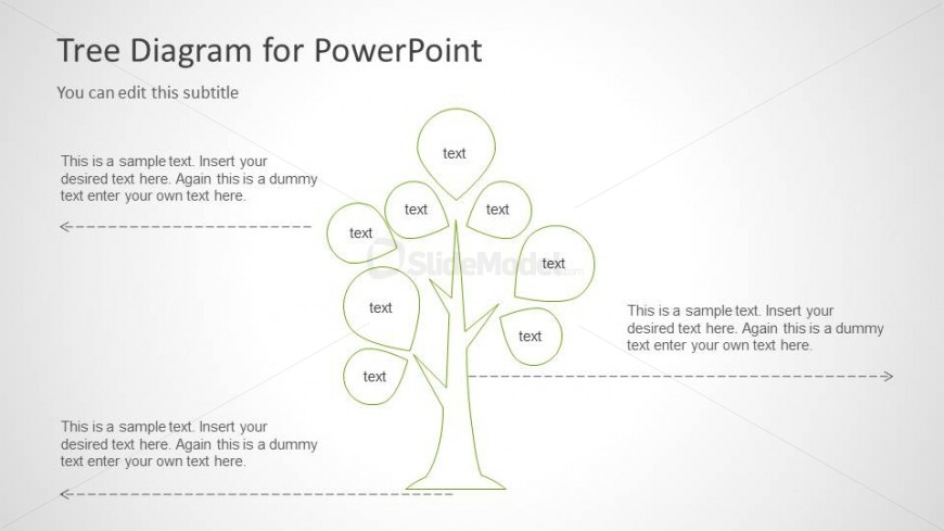 Diagram tree diagram template : 6029-01-tree-diagram-template-4 - SlideModel