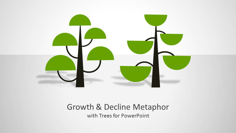 Tree Growth Metaphor for PowerPoint