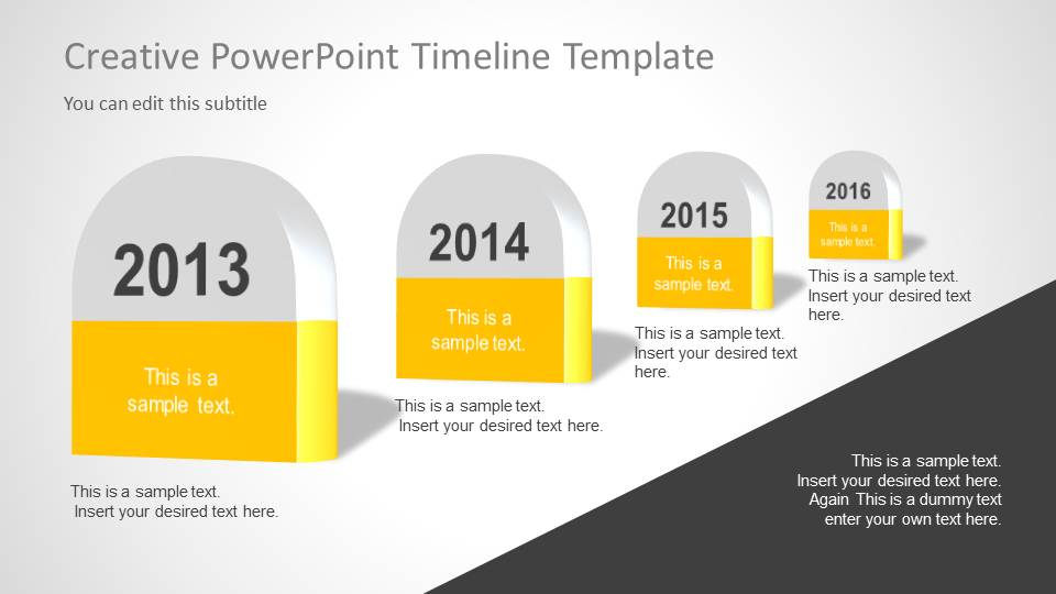 Creative timeline template for powerpoint slidemodel creative timeline template for powerpoint timeline milestones for powerpoint toneelgroepblik Choice Image