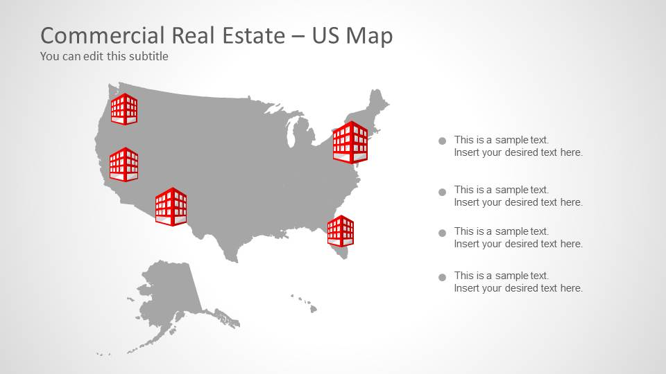 commercial real estate template for powerpoint