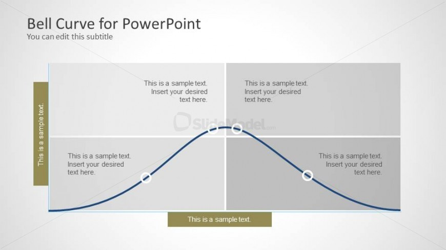bell curve template for powerpoint - slidemodel, Powerpoint templates