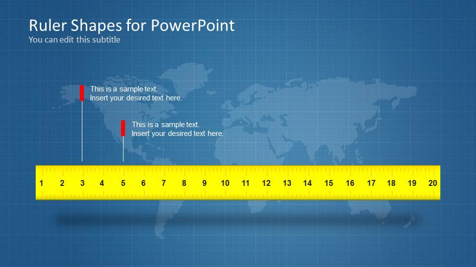 ruler shapes for powerpoint