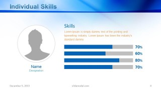 Employee Skills PowerPoint Slide Design