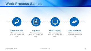Workflow Process Sample Slide Design