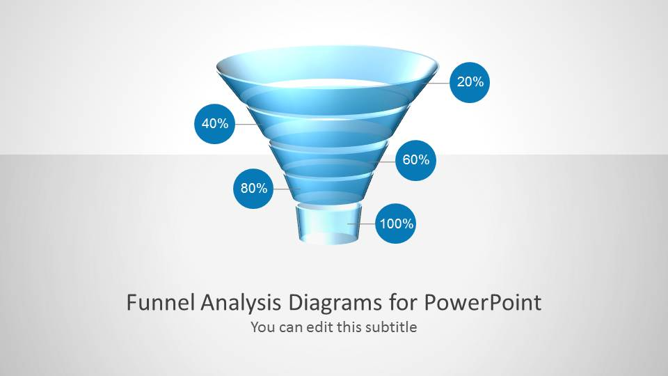 Funnel Diagram For PowerPoint SlideModel - Awesome funnel image powerpoint concept