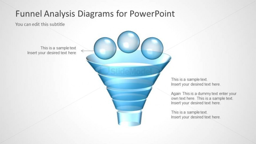 Funnel Analysis Diagram Design for PowerPoint
