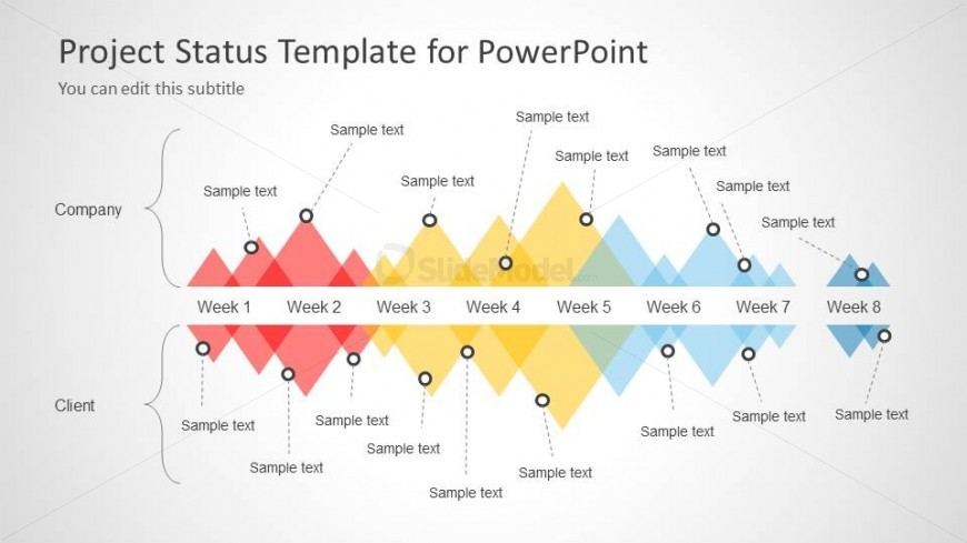 6093 01 project status powerpoint template 2 slidemodel