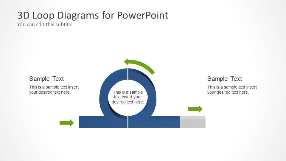 PowerPoint 3D Loop Diagram