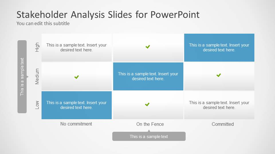 Stakeholders Analysis Slides For Powerpoint  Slidemodel