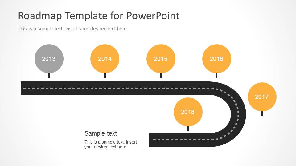 Timeline Roadmap PowerPoint Template SlideModel - Free roadmap timeline template
