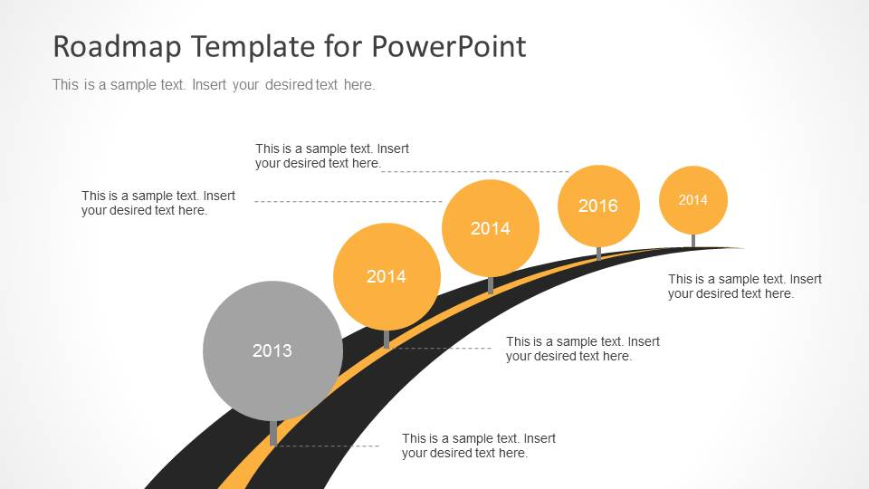 Roadmap Presentation Powerpoint Template